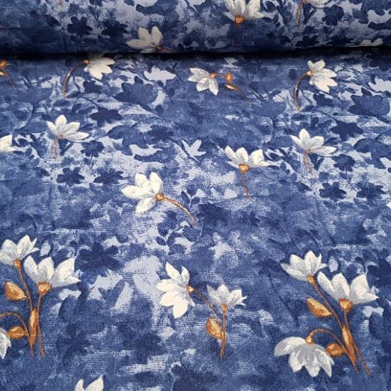 Crespón Flores Azules