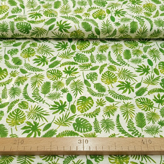 Algodón Hojas Verdes