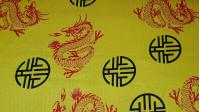 Raso Dragones Chinos