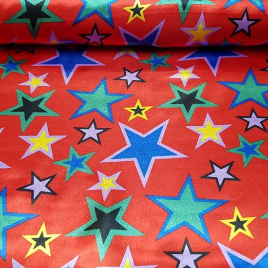 Raso Estrellas Colores