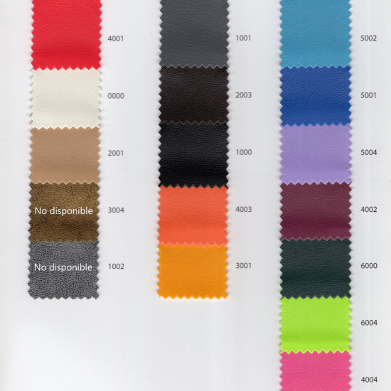 Basic Leatherette fabric - The leatherette is a fairly flexible imitation leather or leather fabric that is widely used for crafts and decoration, even for upholstering chairs, armchairs, headboards