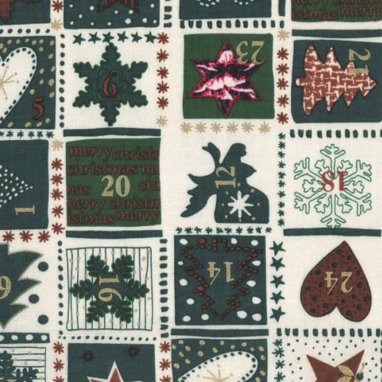 Patchwork Navidad Adviento