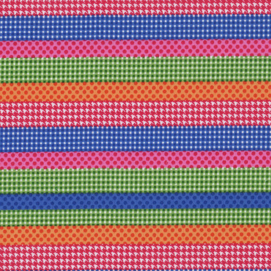 Patchwork Rayas Colores